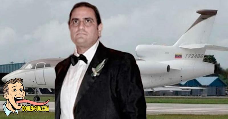 Avión de PDVSA regresó de Cabo Verde sin poder rescatar a Alex Saab