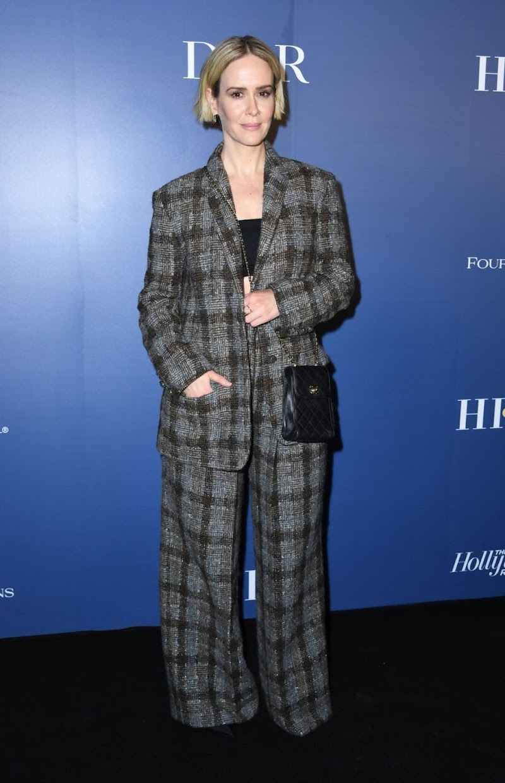 Sarah Paulson clicksat HFPA x Hollywood Reporter Party in Toronto 7 Sep-2019