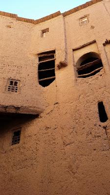Paredes de adobe (Kasbah Amridil)