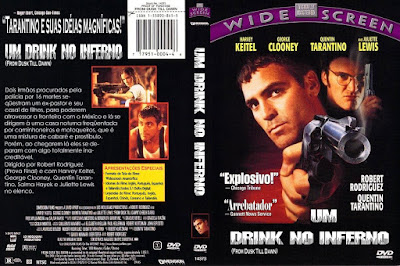 Filme Um Drink No Inferno (From Dusk Till Dawn) DVD Capa