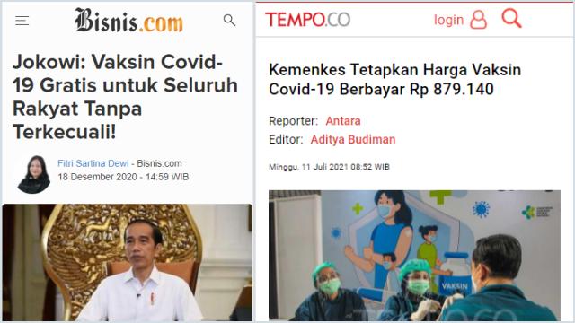 Vaksin Berbayar Tak Pernah Dibahas di DPR, Komisi IX: Ini Jelas Menyalahi Kebijakan Presiden!