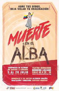 Muerte en el Alba | Teatro Bernando Romero Lozano