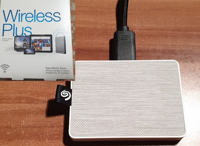 Seagate Wireless Plus 1TB and Seagate One Touch 500 GB SSD