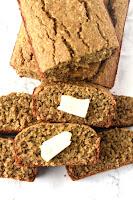 6-Ingredient Oatmeal Banana Bread