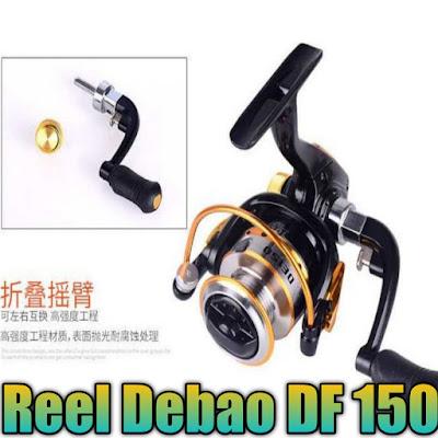 Reel debao df 150 dengan 10 ball bearing harganya terjangkau