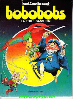 Bobobobs, la toile sans fin, tome 2, année 1986