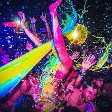 fiestas neon para niños niñas HAYUELOS precio costo ideas economicas