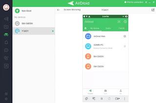 Cara Menghubungkan Layar Android ke Laptop Menggunakan AirDroid