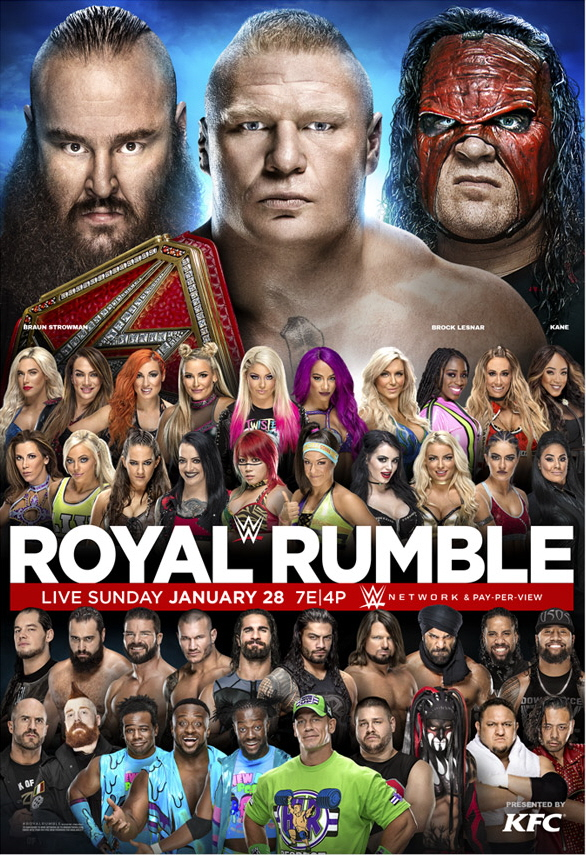 ROYAL RUMBLE 2018 live stream