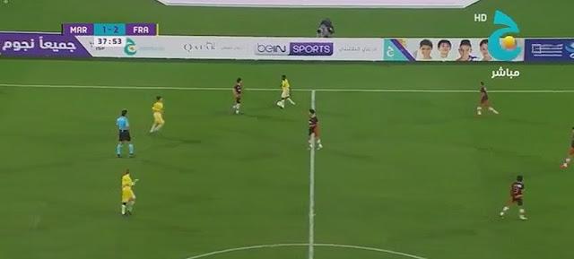 أهداف مباراة المنتخب المغربي المدرسي 2-2 فرنسا نهائي كأس ج العالمية 2017