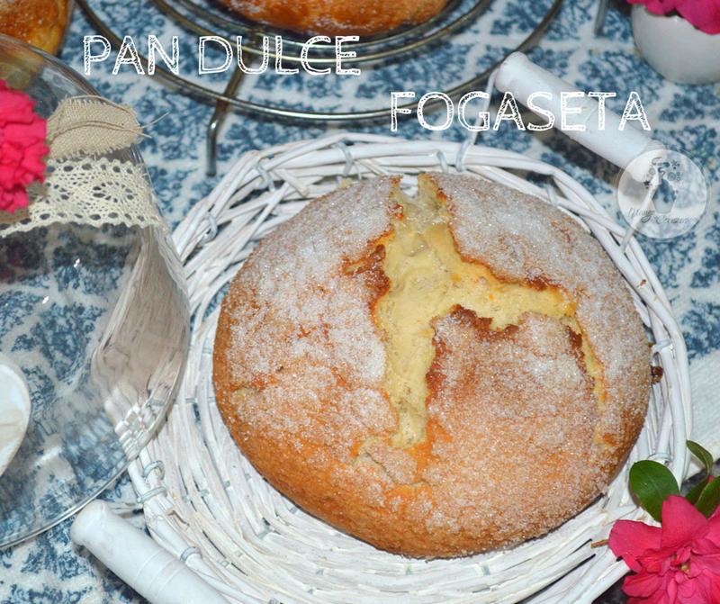 receta facil pan dulce