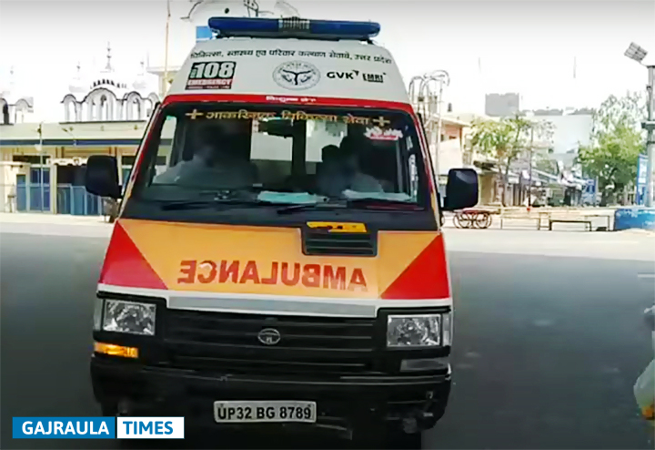 gajraula-ambulance