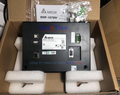 Màn hình cảm ứng HMI Delta DOP-107DV tích hợp cổng Ethernet kết nối PLC S7-1200 giá rẻ nhất