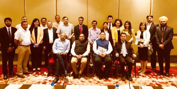 पॉल्ट्री उद्योग और मक्का की आधुनिक खेती को लेकर उद्योग मंत्री विपुल गोयल की थाईलैंड के डेलिगेशन के साथ हुई बैठक