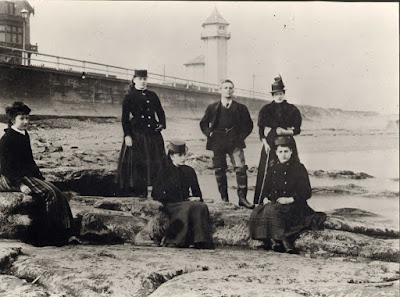 Victorians at the beach