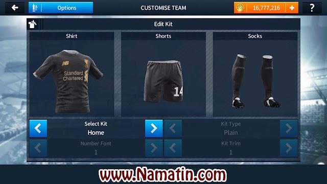 Jersey Kit DLS Liverpool Kiper
