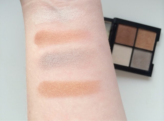 Glo & Ray Mariposa Golden Dunes Palette Swatch