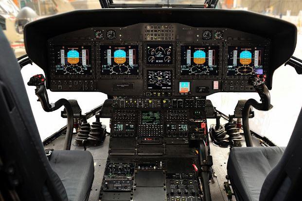 Airbus H225M cockpit