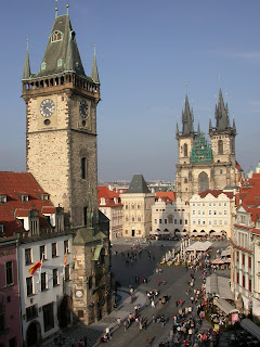 Fairy-tale city of Prague. Photograph by Janie Robinson, Travel Writer