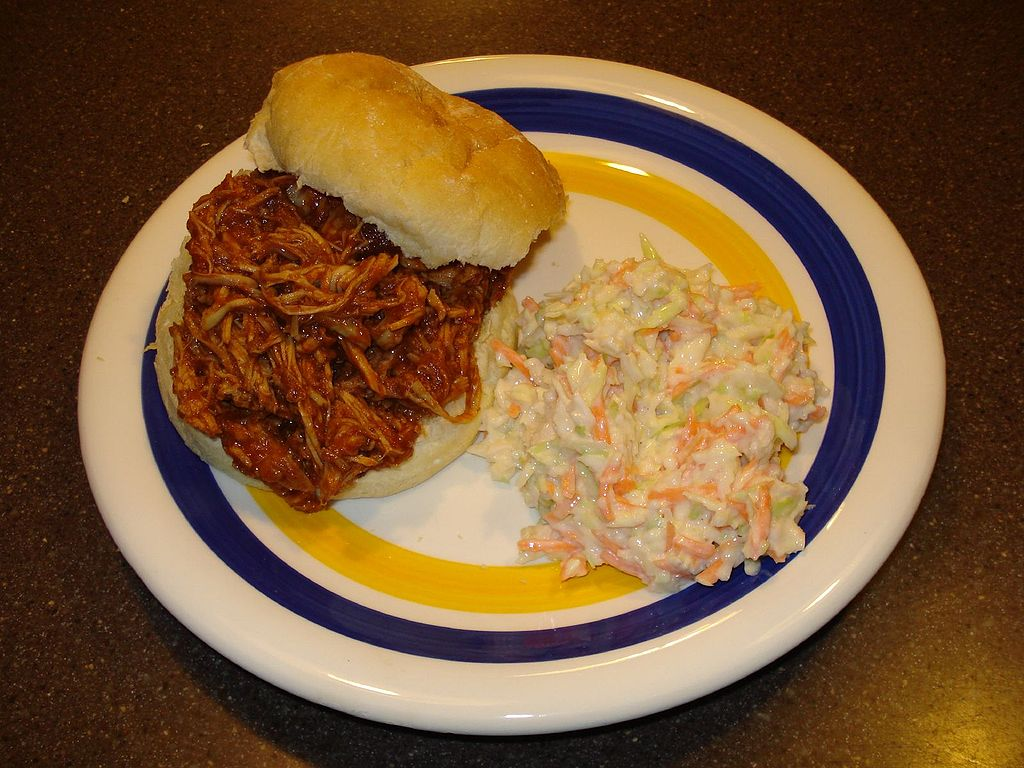 http://commons.wikimedia.org/wiki/File%3ABBQ_Pulled_Pork.jpg