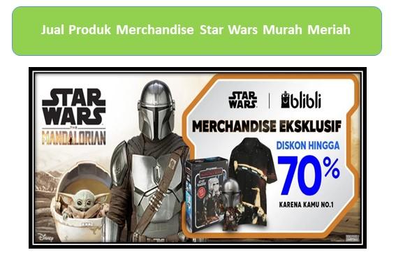 Jual Produk Merchandise Star Wars Murah Meriah