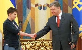 «У нас був не гетьман… а чмо»: Надія Савченко в прямому ефірі висловилася про Петра Порошенка. Відео