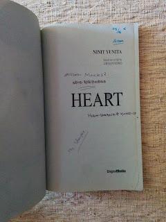 Heart Penulis Ninit Yunita