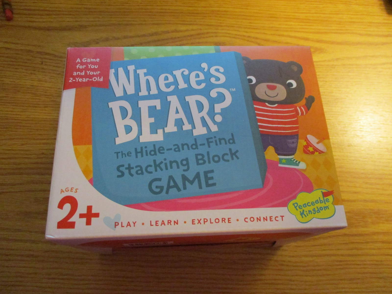 Missys Product Reviews : Where's Bear? The Hide and Find