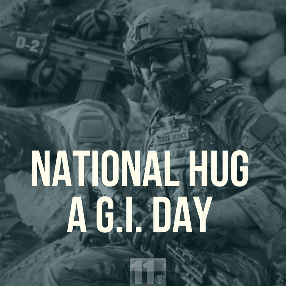 National Hug a G.I. Day Wishes Sweet Images