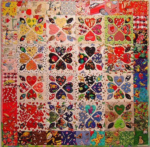 Have a Heart Quilt Free Pattern