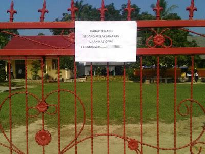 Gelar Festival Desa Disaat Ujian Tengah Semester, Kades Sukadana Ilir Minta Maaf