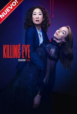 Killing Eve (TV Series) S02 DVD HD Latino NO Sub 2xDVD