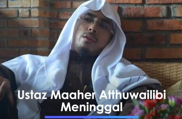 Ustaz Maaher At-Thuwailibi akan Dimakamkan Dekat Makam Syekh Ali Jaber di Ponpes Darul Quran