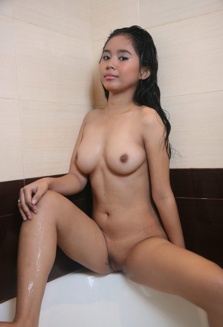 Naked Young Shower