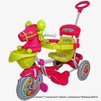 Sepeda Roda Tiga Royal RY9072 Kuda