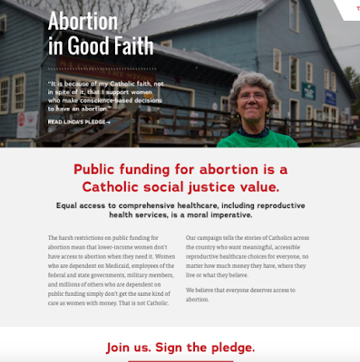 """Ad placed by """"Catholics for Choice"""" in Monday's Chicago Sun-Times"""