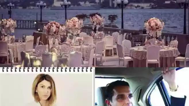 BOGDAN IONESCU SYDA și SHEILA GIAFER Nuntă de fite la PALATUL KEMPINSKI, ISTANBUL