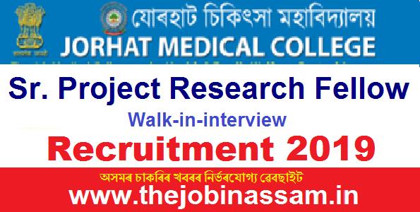 Jorhat Medical College Recruitment 2019