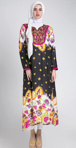 Contoh Model Baju Hamil Muslim Terbaik 2015