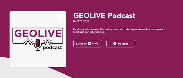 GEOLIVE Podcast