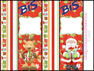 Santa y Renos: Kit para Navidad Para Descargar Gratis.