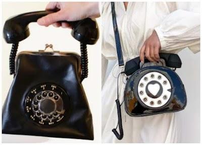 Cómo hacer un Bolso con forma de teléfono vintage