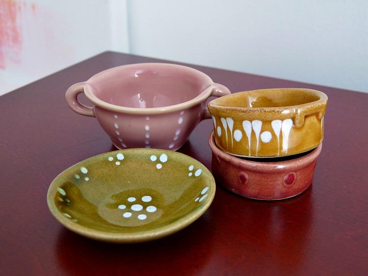 Doll sized pottery