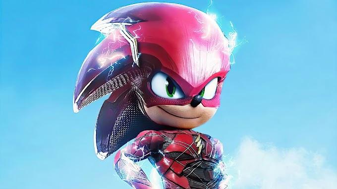 Tela de Fundo para Celular Sonic The Flash