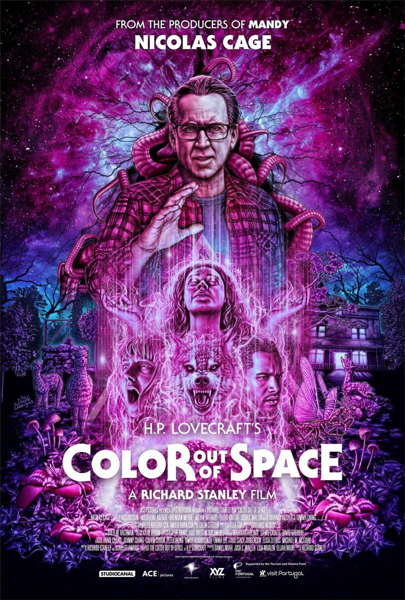 Download Color Out of Space (2019) Full Movie in Hindi Dual Audio BluRay 720p [1GB]
