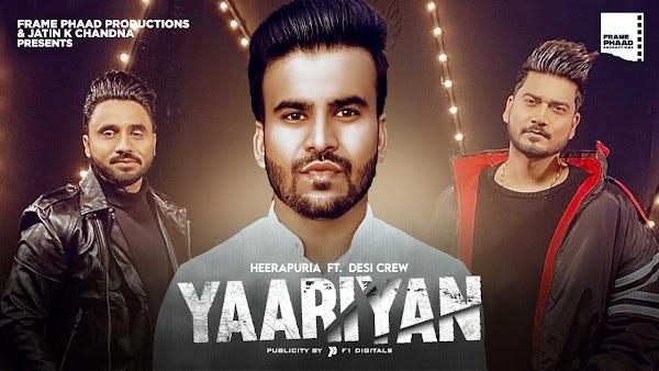 [Lyrics] Heerapuria - Yaariyan
