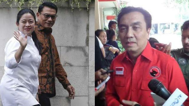 PDIP Ogah Puan Berpasangan dengan Moeldoko