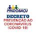 Prefeitura de Pindobaçu publica Decreto com medidas de prevenção e combate ao coronavírus