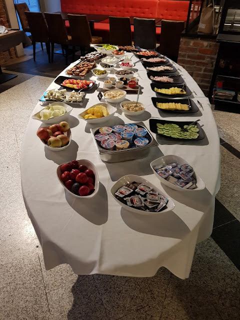Sala colazione-Hotel Korona-Breslavia