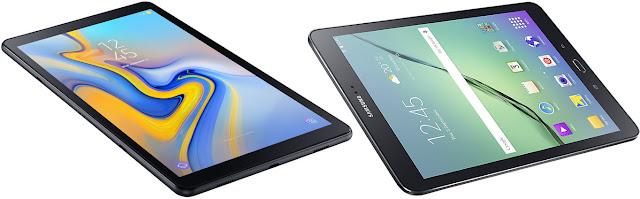 Comparativa tablets Samsung de 10 pulgadas de unos 250 euros